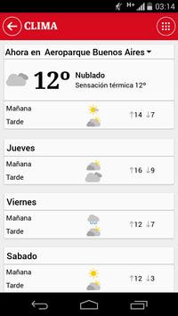 Clarín apk screenshot