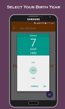 Age Calculator screenshot 4