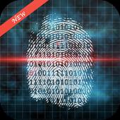 Fingerprint age scanner prank icon