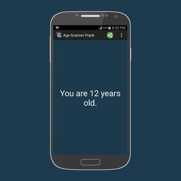 Fingerprint age scanner prank apk screenshot