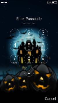 Halloween Lock Screen screenshot 5