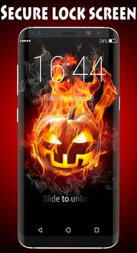 Halloween Lock Screen poster