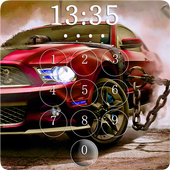 Super Racer Car Lock Screen Wallpaper icon