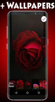 Rose Lock Screen & Wallpaper apk screenshot