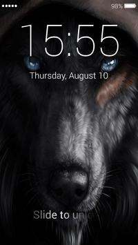 Wolf Lock Screen apk screenshot