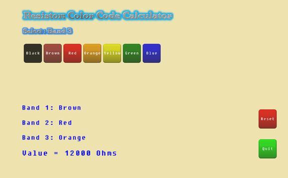 Resistor Calculator Lite screenshot 2