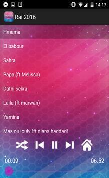 أروع اغاني الراي 2016 apk screenshot