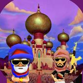 Prince Desert run (Runner 3D) icon