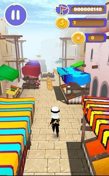 Prince Desert run (Runner 3D) poster