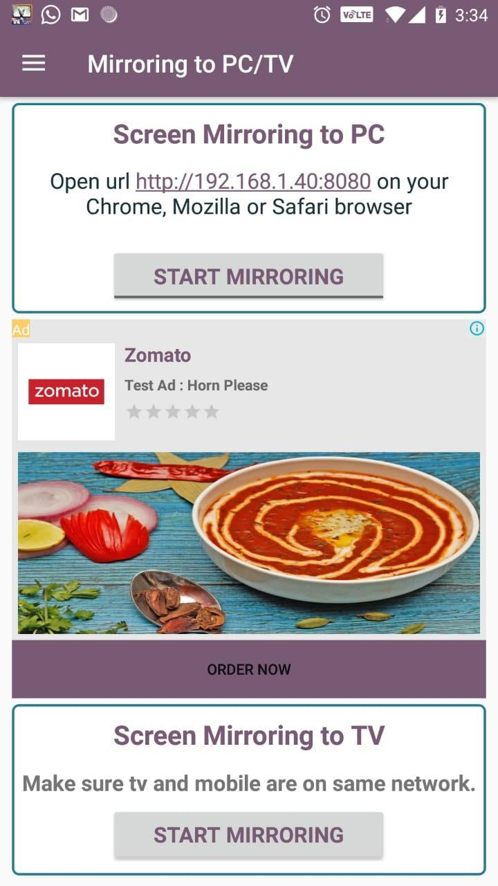 Screen mirroring Mobile to PC/TV for Android - APK Download