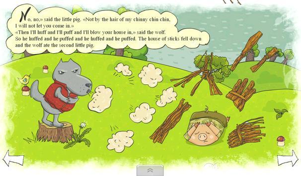Three Little Pigs apk screenshot