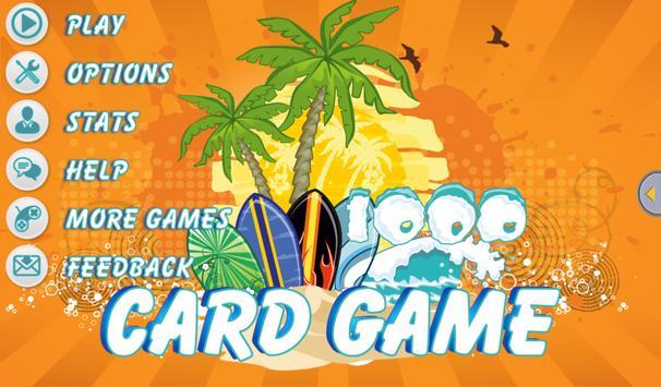 1000 Card Game apk screenshot
