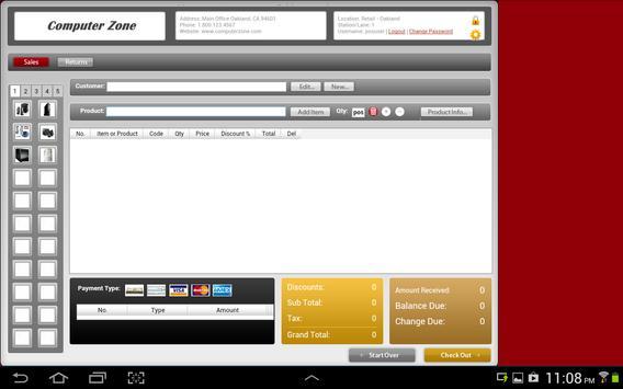 Agiliron POS | Point of Sale apk screenshot