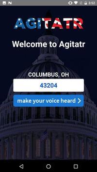 Agitatr screenshot 1