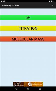 Chemistry Assistant apk screenshot