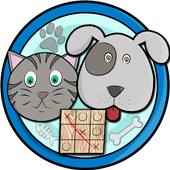 Tic Tac Toe Cats and Dogs icon