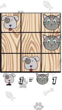 Tic Tac Toe Cats and Dogs screenshot 5