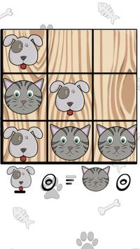 Tic Tac Toe Cats and Dogs screenshot 8