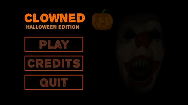 Clowned: Halloween Edition poster