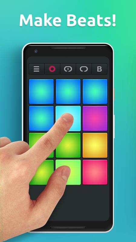 drum pad machine make beats apk download free music audio app for android. Black Bedroom Furniture Sets. Home Design Ideas