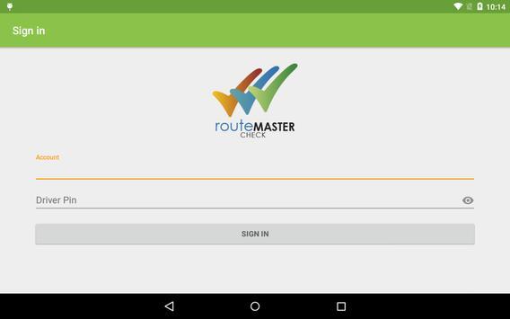 routeMASTER Check screenshot 12