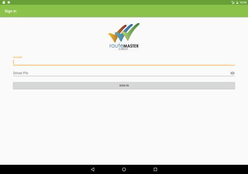 routeMASTER Check screenshot 6