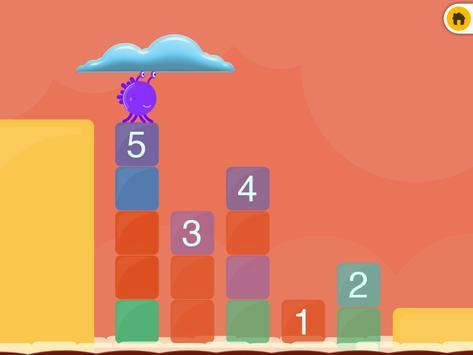 Monster Sort: Size & Numbers screenshot 2
