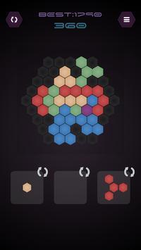 Pop Hexagon poster