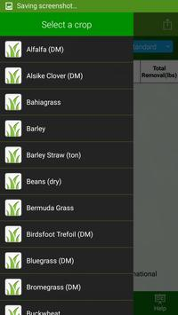 Fertilizer Removal By Crop apk screenshot
