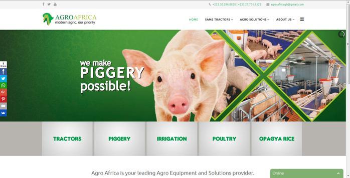 AGRO Africa apk screenshot