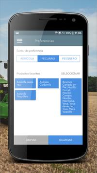 Mercados SAGARPA screenshot 2