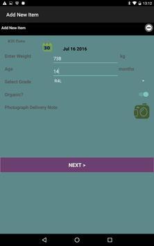 Follow this Food Item check-in screenshot 1