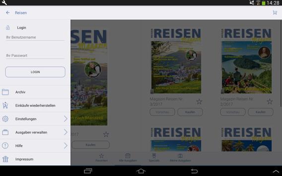 REISEN apk screenshot
