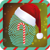 Santa Claus Scanner Christmas icon