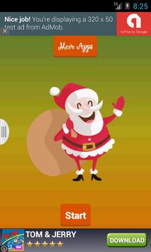 Santa Claus Scanner Christmas poster