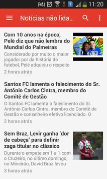 Notícias do Santos poster