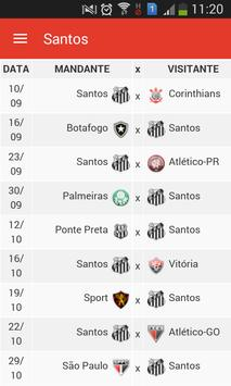 Notícias do Santos apk screenshot