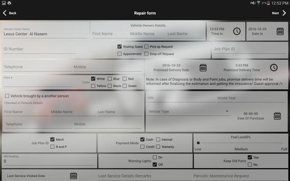 Lexus Services screenshot 5