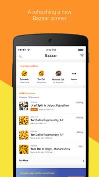 Agribazaar: buy/sell commodity poster