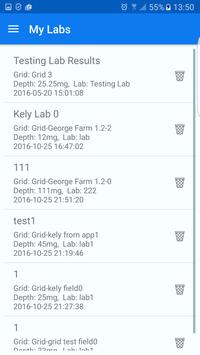 DroidGrid - Soil Sampling apk screenshot