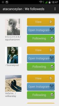 instaFame for instagram apk screenshot