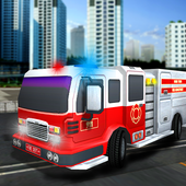 Firefighter Truck Rescue 911 icon
