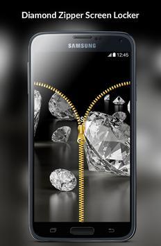 Diamond Zipper Screen Lock apk screenshot