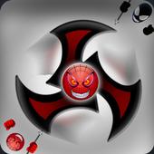 Fidget Spinner Hero Vs Incredible Spider Monster icon