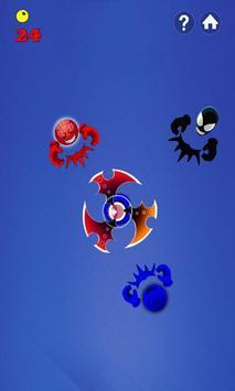 Fidget Spinner Hero Vs Incredible Spider Monster screenshot 3