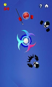 Fidget Spinner Hero Vs Incredible Spider Monster screenshot 1