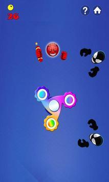 Fidget Spinner Hero Vs Incredible Spider Monster screenshot 2