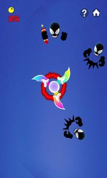 Fidget Spinner Hero Vs Incredible Spider Monster screenshot 4