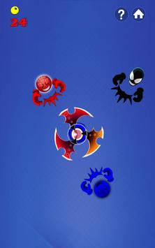 Fidget Spinner Hero Vs Incredible Spider Monster screenshot 8