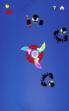 Fidget Spinner Hero Vs Incredible Spider Monster screenshot 9